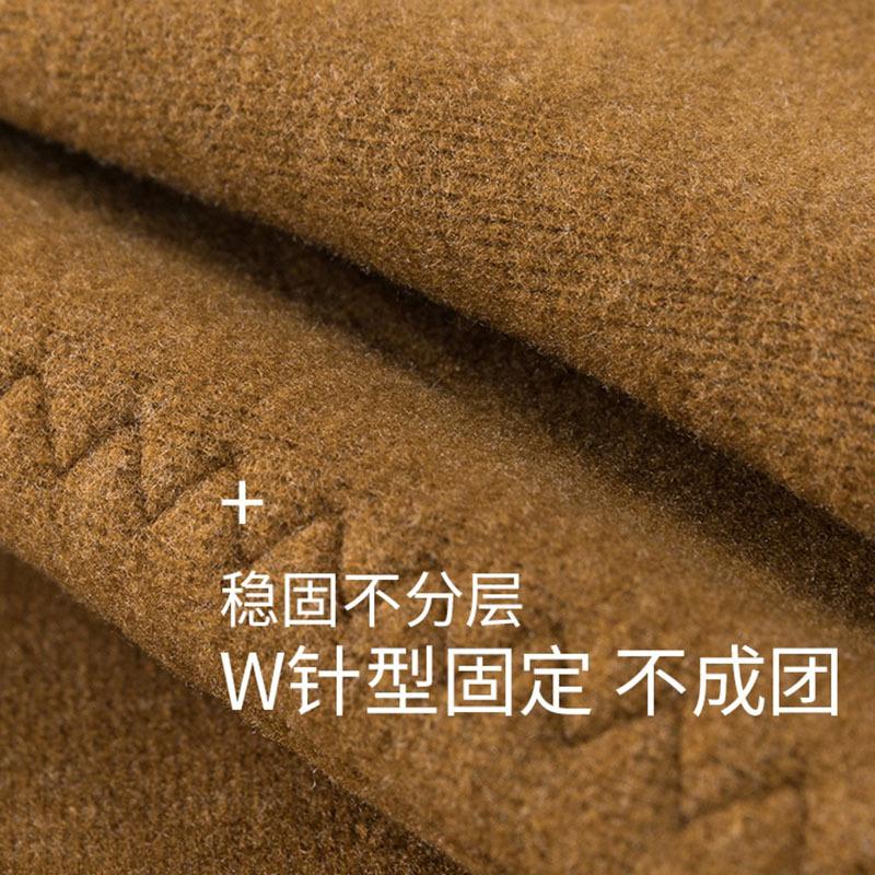 极限羊冬季驼绒三层保暖裤