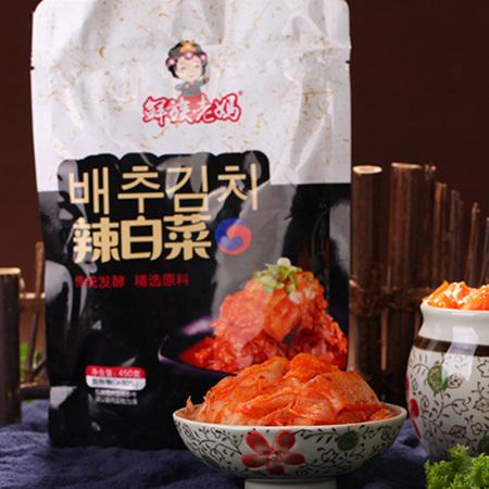 鲜族老妈爽口辣白菜200g/袋;6袋装