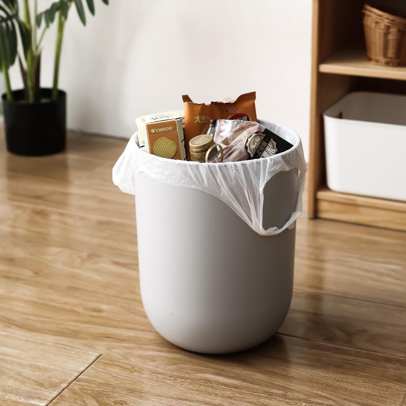 多派家用手提式加厚45*60cm背心式垃圾袋90只