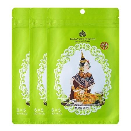 泰国进口Royal驱蚊贴30贴*3袋