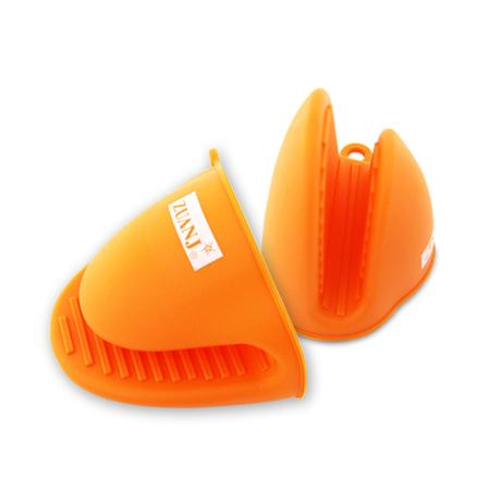 ZUANJ/钻技 大号硅胶隔热夹·橘色