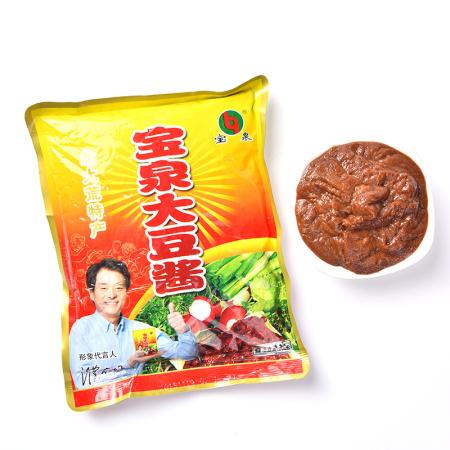 宝泉大豆酱东北特产500g*4袋