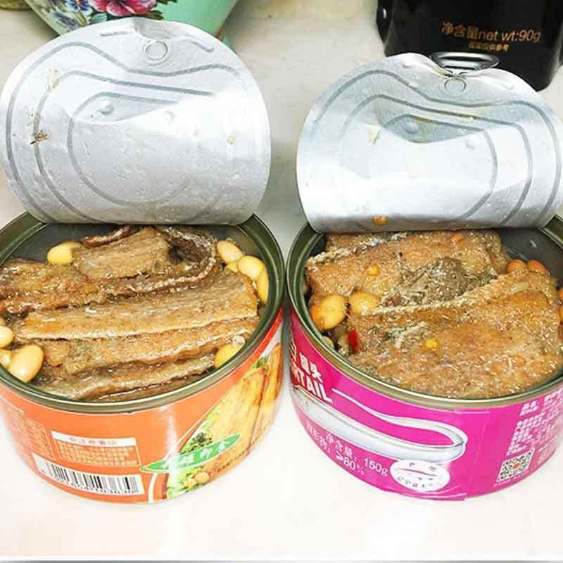 红塔牌带鱼罐头美味组150g*36罐