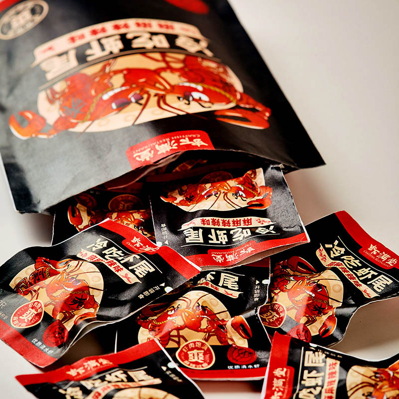 虾满堂麻辣龙虾尾50g*3袋