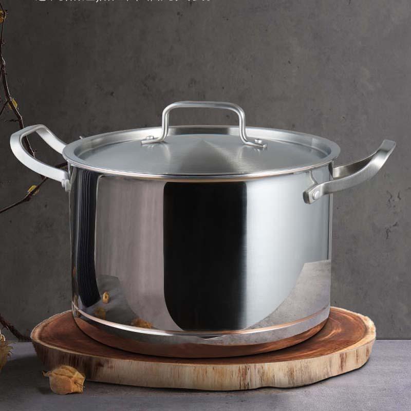 德国爱乐仕夹层铜制不锈钢锅具组合