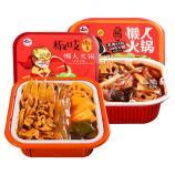 椒吱肉多多(荤)400g*2盒+椒吱熊猫(素)350g*2盒