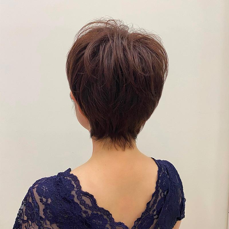 艾雅雅致短发套·棕色