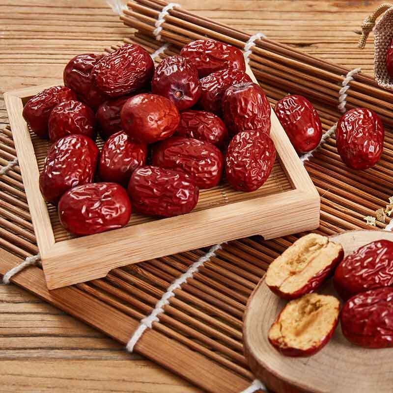 隆源村 新疆若羌红枣500g*5袋