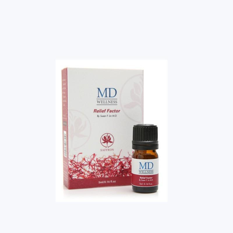 美国MD藏红花按摩油1瓶    共同