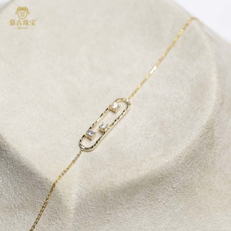 慕古18K金钻石手链00041·18K/钻石