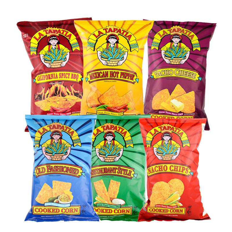 墨西哥少女玉米片原味283.5g*2袋