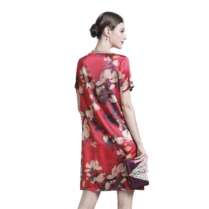 英国JANCYBONY女士桑蚕丝连衣裙*2件组