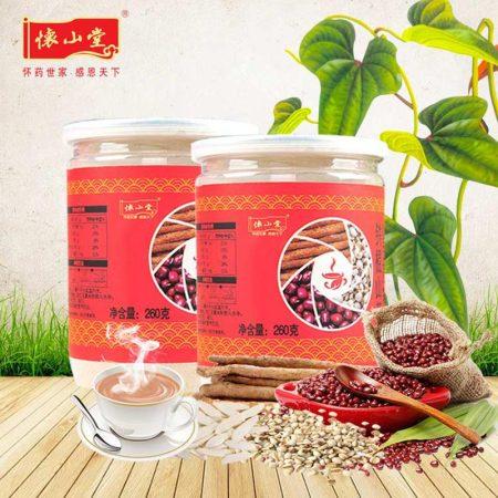 怀山堂铁棍山药红豆薏米粉 260g*2罐