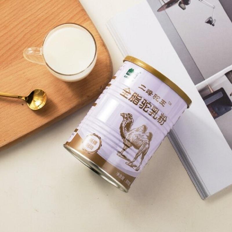 哈纳斯乳业新疆全脂纯驼乳粉300g*3罐