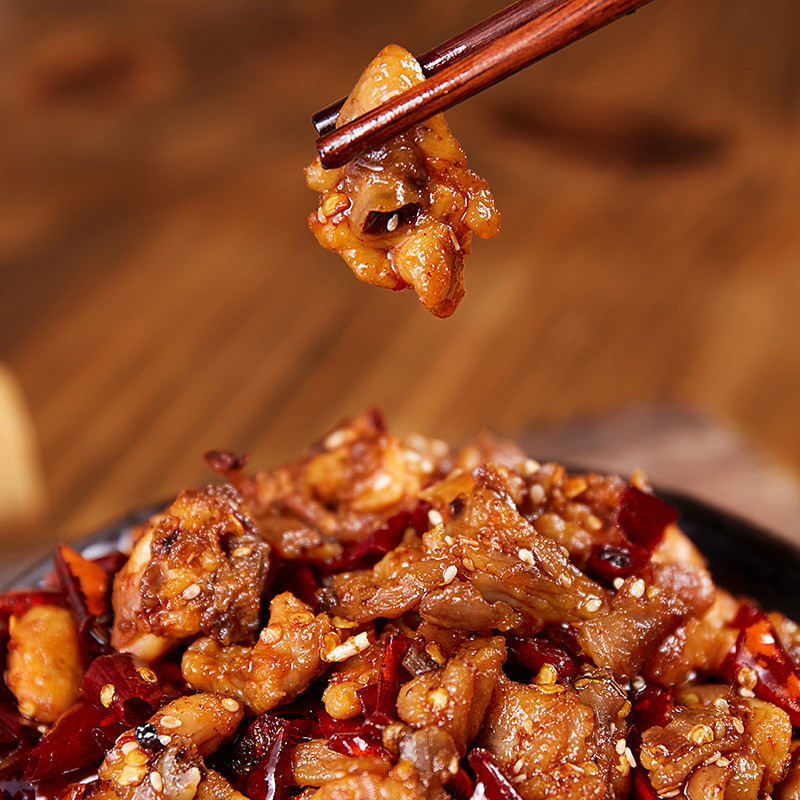 包邮红油冷吃兔丁(麻辣)