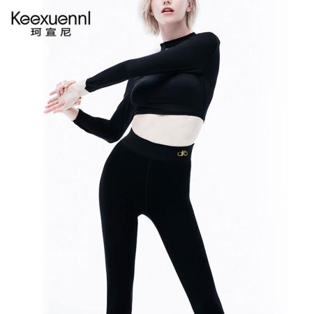 珂宣尼胶原蛋白纤维冬季燃脂瘦身裤·凝脂裤