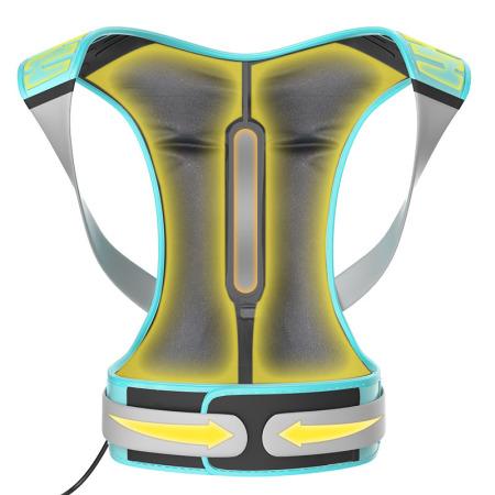 何浩明 气压驼背矫姿带【第四代防勒设计】DH034AL·浅绿色