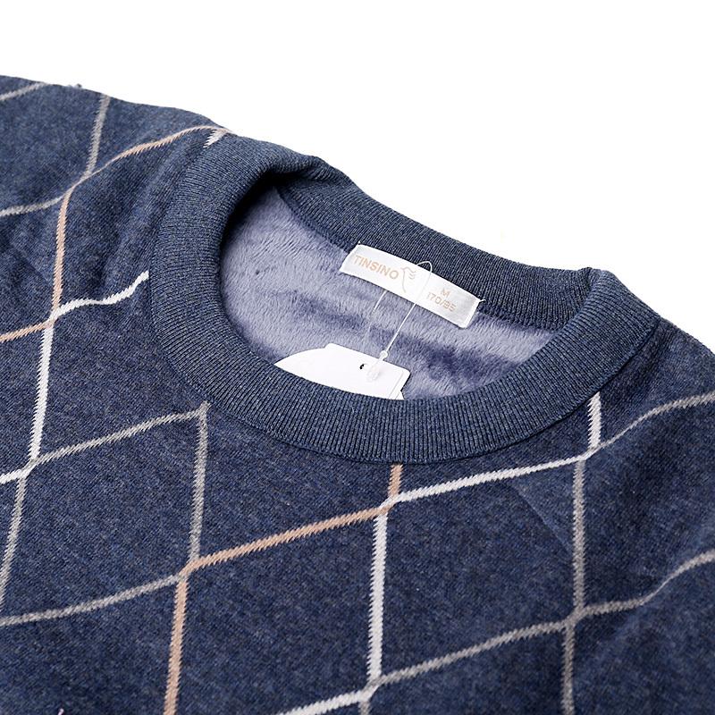 纤丝鸟羊毛套装·17260麻蓝色