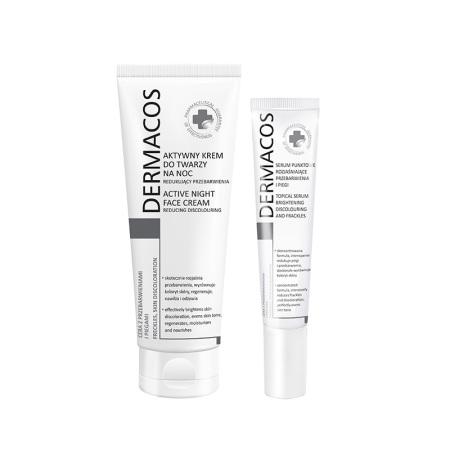 波兰Dermacos淡斑套装 (淡斑霜50ml*1条+局斑斑点加强15ml*1条)
