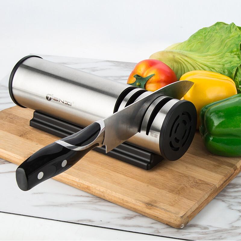 天喜 快速磨刀器厨房家用全自动多功能磨刀石器电动磨菜刀剪刀
