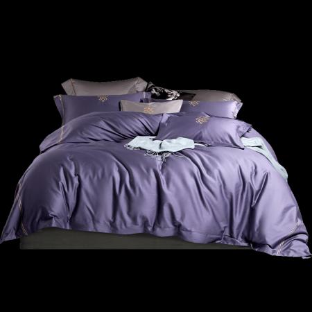 康尔馨五星级酒店曼城之恋床品套件(六尺)·紫色
