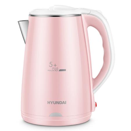韩国现代 电水壶2.2L  19年新款 食品级304不锈钢QC-SH2201A