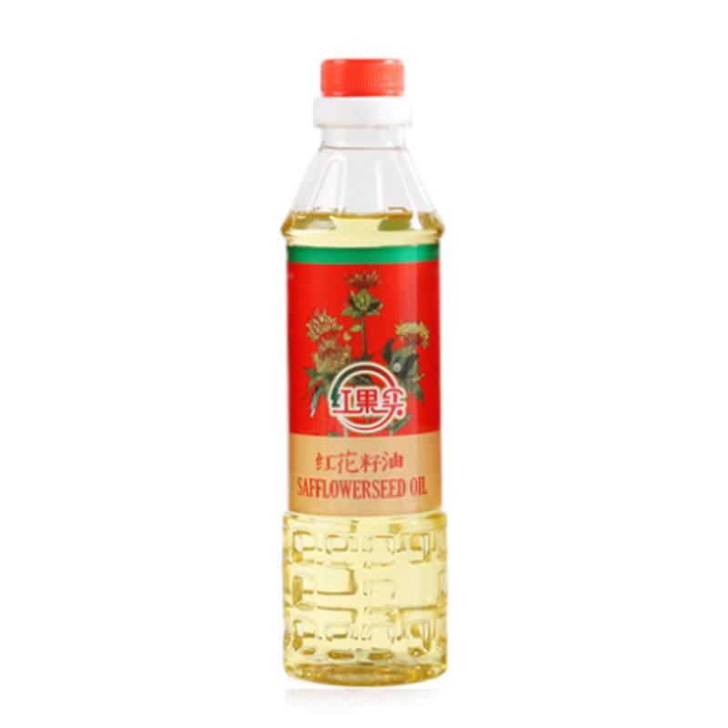 新疆红果实红花籽油4瓶装