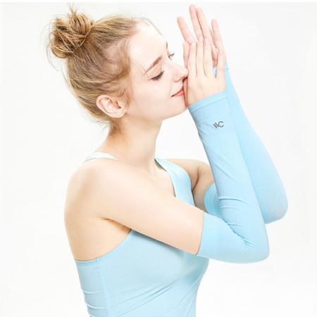 VVC 冰丝神袖光疗防晒袖·蓝色