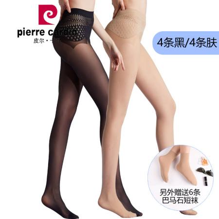 皮尔卡丹12D苹果臀抗菌消臭连裤袜