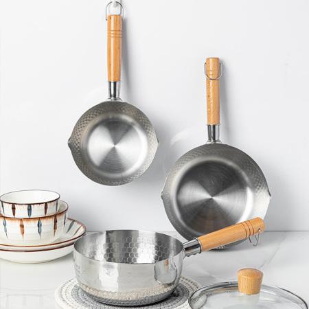 CHARZINSKI查金世家日式家用不锈钢雪平锅泡面锅·20cm款