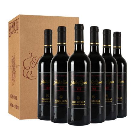 澳洲原瓶进口红酒Joshua Manor乔瑞西拉M18 750ml*6瓶