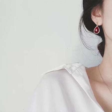 香港直邮 DAN水滴耳环