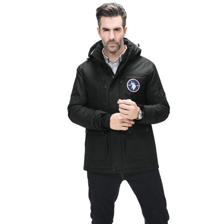 美国U.S.POLO ASSN.桑蚕丝外套·黑色