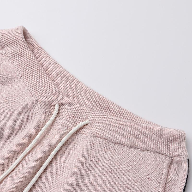 早秋新款含羊毛运动休闲套装·时髦洋气!品质推荐!--最大150斤可穿!  黑色  黑色