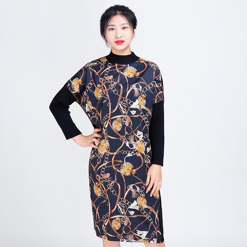 金典娜超奢款连衣裙·豹纹款