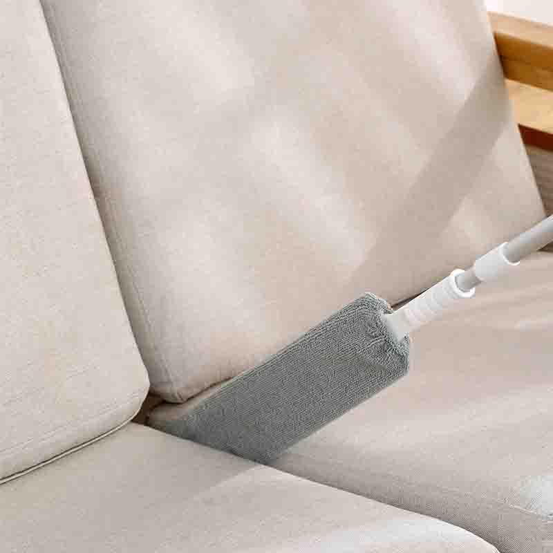 FaSoLa床底清扫神器家用缝隙除尘掸送替换布·白色