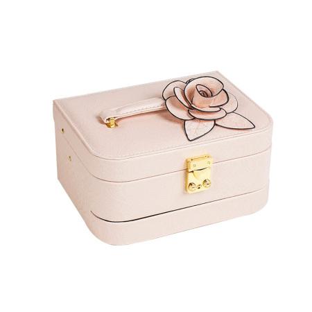 百年许氏 轻奢首饰盒·藕粉色