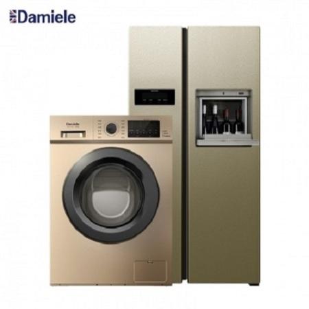 达米尼610L+9KG大吧台冰洗组·金色