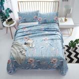床单款-落叶繁花 蓝