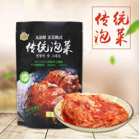 朴掌柜韩式辣白菜500g*5袋