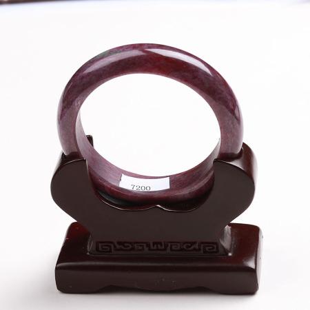 满记精选红绿宝红润手镯收藏款圈口:55mm