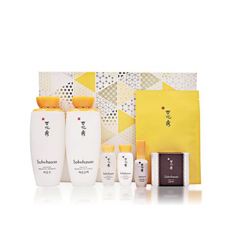 香港直邮 雪花秀滋盈肌本水乳送蜜皂护肤套装 XHX001·套装