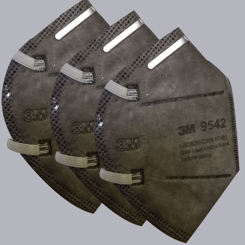 3M防护口罩·9542头戴式口罩3只+1包湿巾