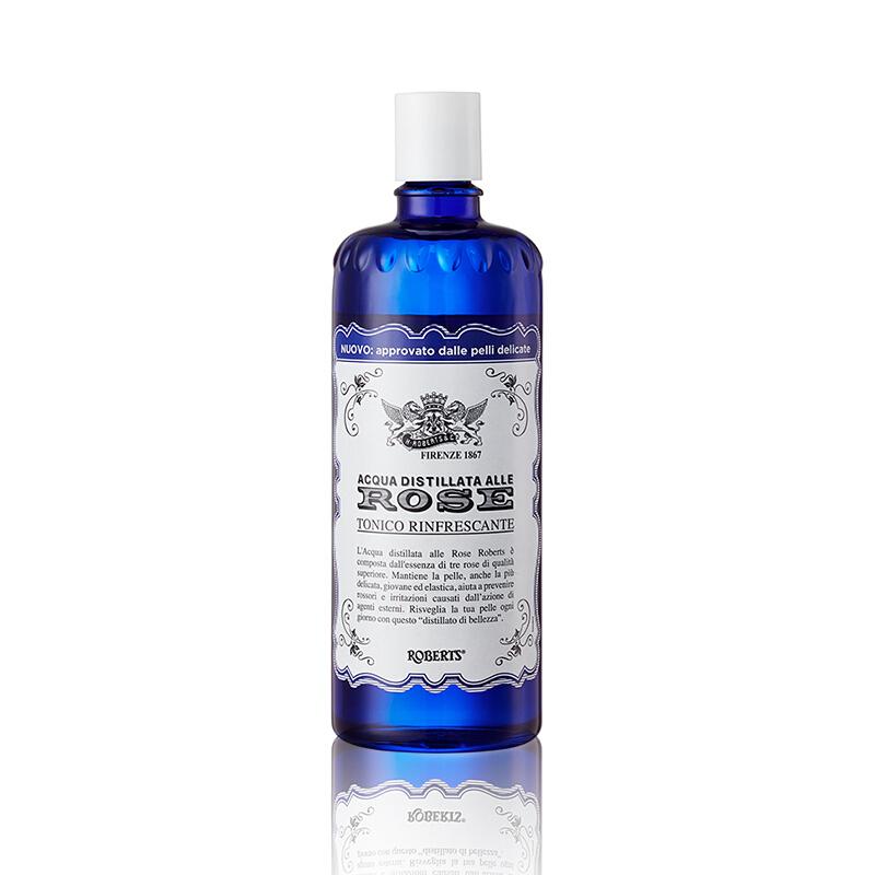 意大利进口艾可玖补水保湿玫瑰水300ml*4瓶