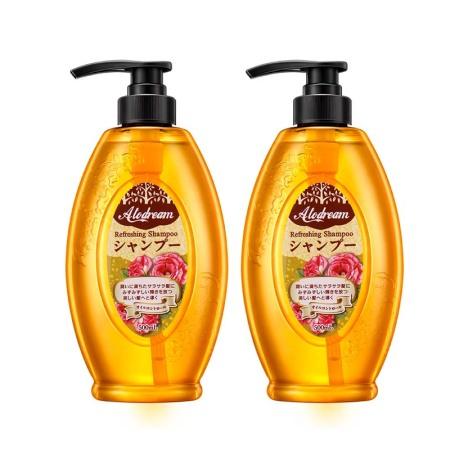 日本清妍萃洗发水2瓶*500ml,无硅油清爽韧发 ! 共同