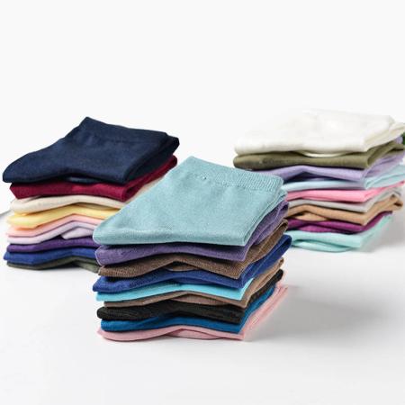 80%桑蚕丝舒适男女中筒袜5双装·舒爽排汗!透气防臭!优质蚕丝!给足舒服!