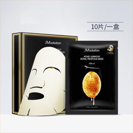 香港直邮 JMsolution 水光蜂蜜急救补水面膜 10片/盒·抗敏蜂蜜