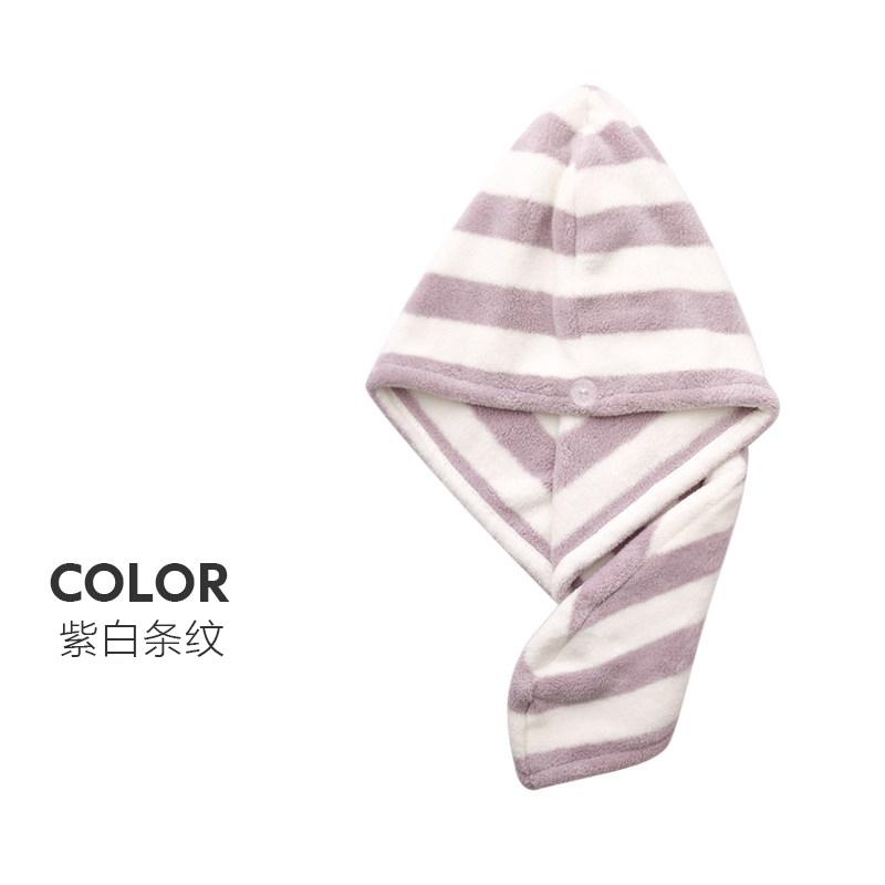 超吸水抗螨菌包头巾浴帽3条装干发帽