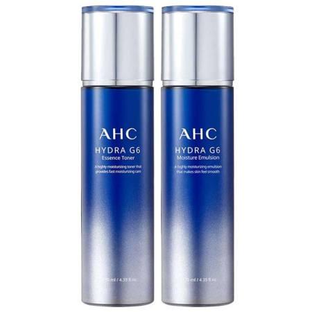 【香港直邮】韩国AHC G6水乳套装(爽肤水130ml+乳液130ml )套装