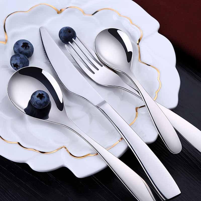 德国SSGP西餐套组12件组 304不锈钢刀叉勺木盒装 馈赠佳品